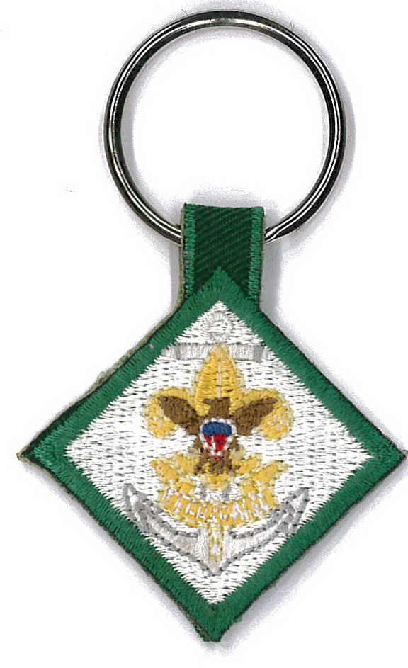 Key Fob With Embroidery